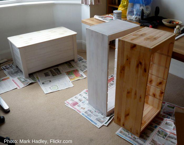 la madera se puede pintar con pintura de agua